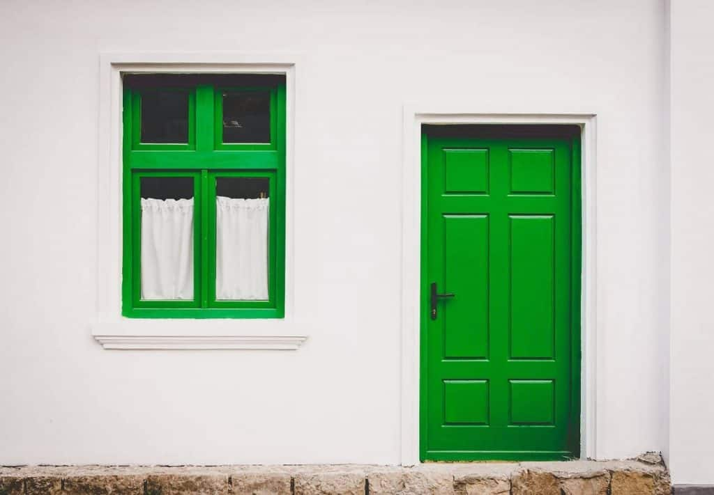 Be Renovative - green door and window house, helping to make house / apartment renovation simple, practical and fun