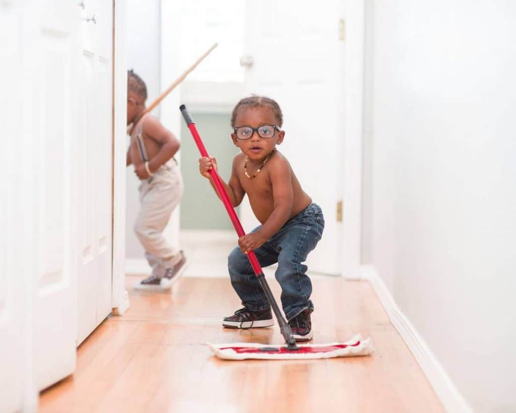 Be Renovative - kids floor mopping, helping to make house / apartment renovation simple, practical and fun